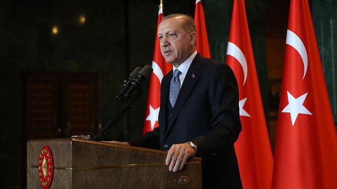 Erdoğan: Gelin, Türkiye'yi birlikte büyütelim