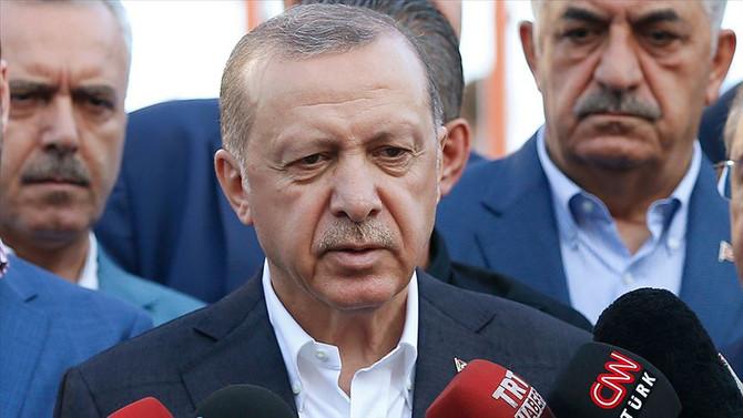 Erdoğan: Geri adım atmak söz konusu değil