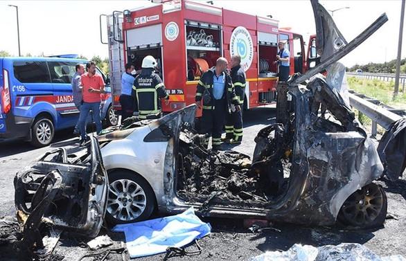 Trafik kazalarında 50 kişi hayatını kaybetti