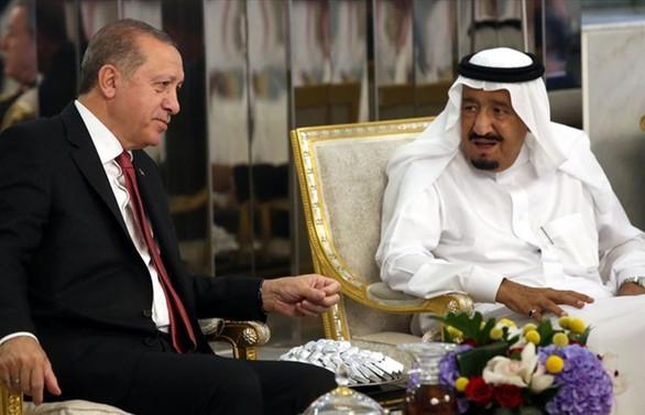 Erdoğan ile Selman görüştü