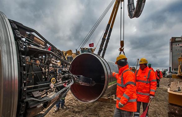 TANAP, Avrupa'ya gaz vermek için hazır