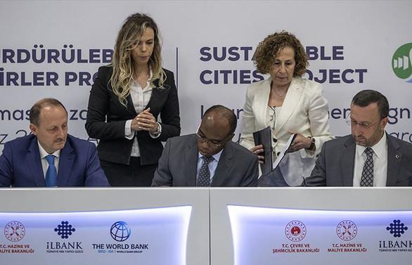 Sürdürülebilir Şehirler Projesi'ne 500 milyon euroluk finansman desteği