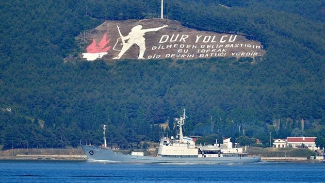Çanakkale Boğazı, transit gemi geçişlerine açıldı