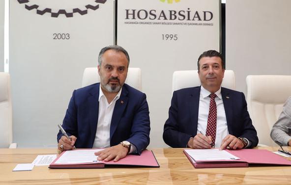 İmzalar daha güvenli HOSAB için atıldı