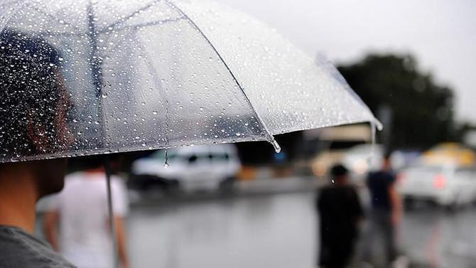 Meteorolojiden 4 bölge için sağanak uyarısı