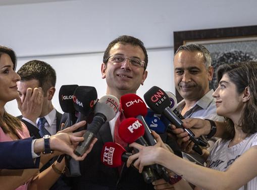 İstanbul Büyükşehir Belediye Başkanı Ekrem İmamoğlu: Yüzde 90'a yakını istifa etti