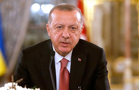 Erdoğan, Aliyev ve Akufo-Addo ile görüştü