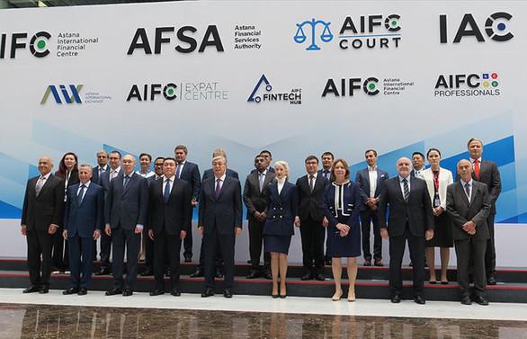 AIFC mahkemesi ve Uluslararası Tahkim Merkezi açıldı