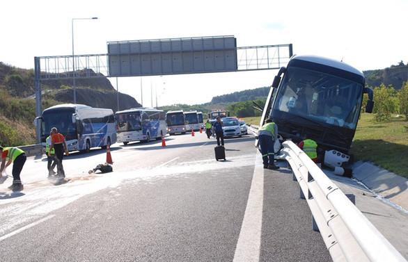 Kuzey Marmara Otoyolu'nda kaza: 4 yaralı