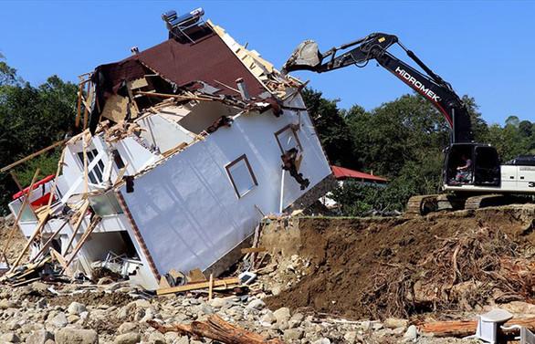 Kurum: Düzce'de 475 bina selden etkilenmiş durumda
