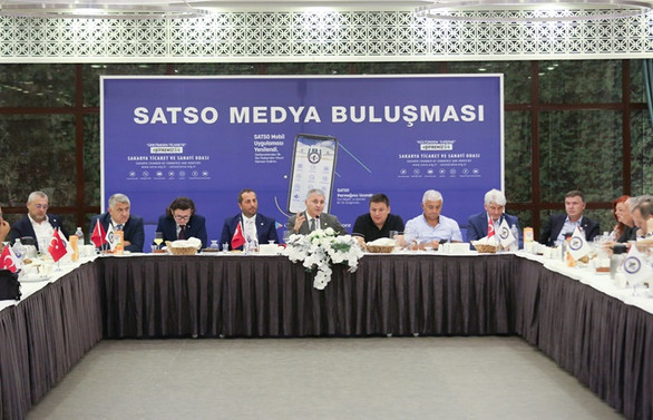 SATSO basın bayramı için toplandı