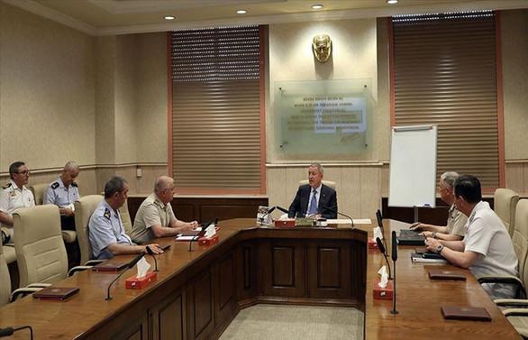 Milli Savunma Bakanlığında kritik 'güvenli bölge' toplantısı