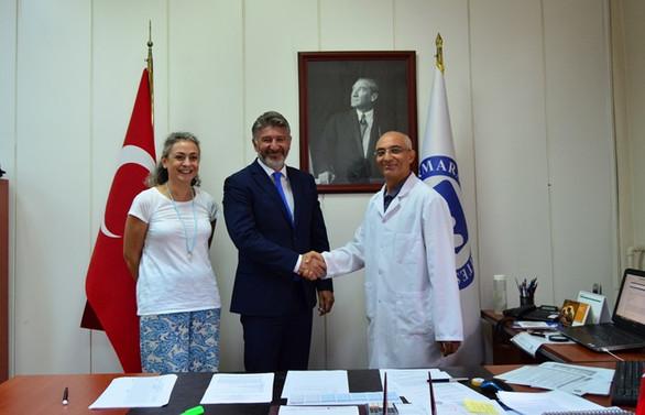 Tezmaksan Akademi ile Marmara Üniversitesi arasında iş birliği