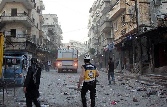 İdlib'de hava saldırısı: 2 ölü 8 yaralı