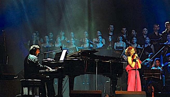 Sertab Erener ve Sabri T. Tırpan ENKA Açıkhava'da