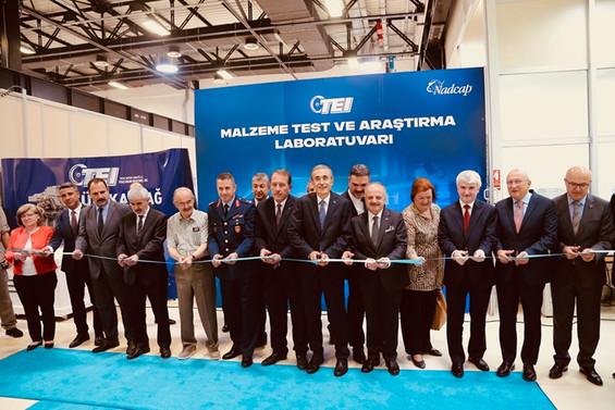 İlk malzeme test ve araştırma laboratuvarı açıldı