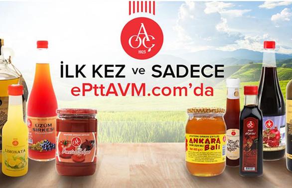 e-PTTAVM'de AOÇ ürünlerinin satışına başlandı