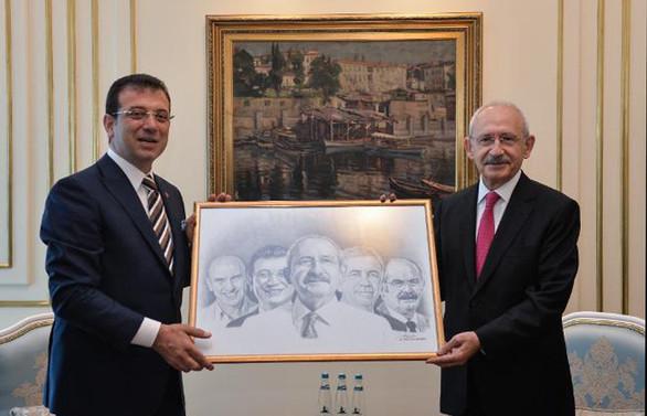 Kılıçdaroğlu, İBB'yi ziyaret etti