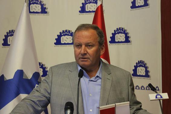Bursa OSB'nin 8. Olağan Genel Kurul toplantısı yapıldı