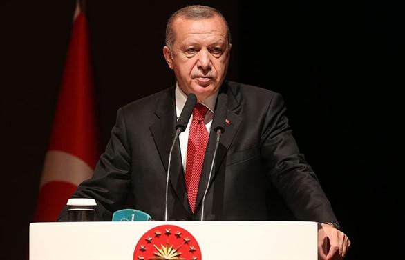 Erdoğan, AK Parti'li ilçe belediye başkanlarıyla buluştu
