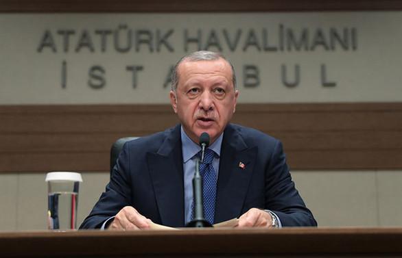 Erdoğan: S-400'lerin yükleme çalışmaları sürüyor