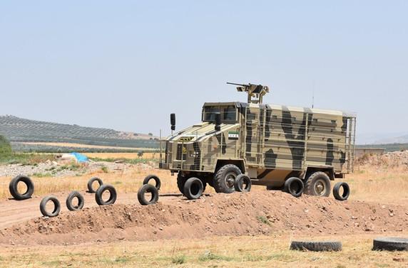 ÖSO ilk 'zırhlı aracını' üretti