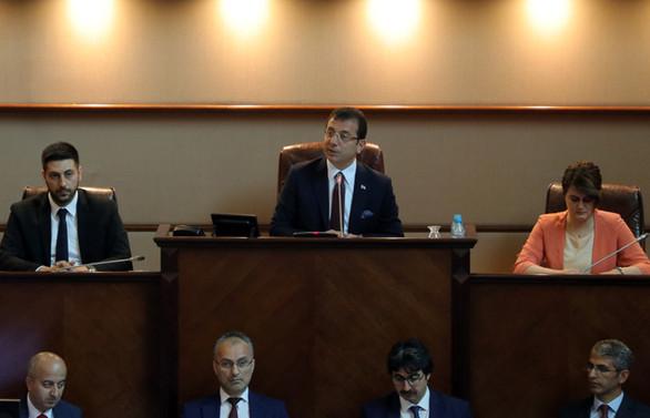 İBB Meclisi'nin temmuz ayı toplantısı yapıldı