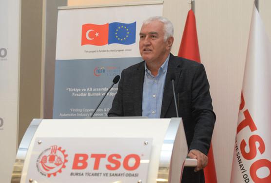 Bursa'dan Avrupa'ya ticaret köprüsü