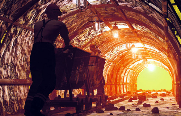 On Birinci Kalkınma Planı'nda madencilik