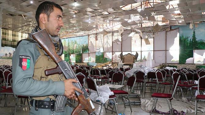 Afganistan'da düğün salonunda patlama: 63 ölü, 182 yaralı
