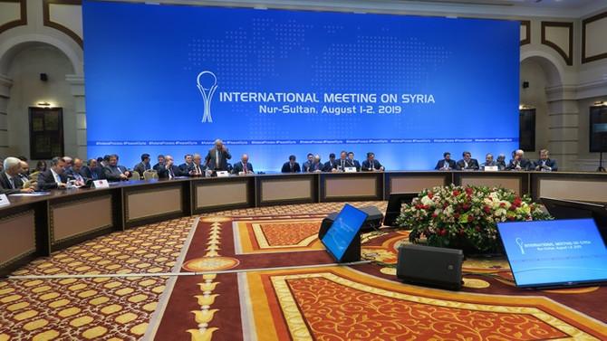 Suriye konulu 13. Garantörler Toplantısı sona erdi
