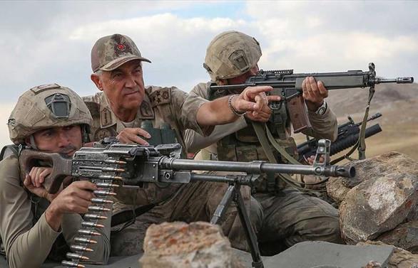 Çetin: Dağlar teröristlerden tamamen temizlenmiş durumda