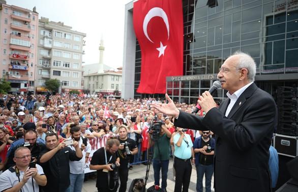 Kılıçdaroğlu: Orta Doğu bataklığında bizim ne işimiz var?