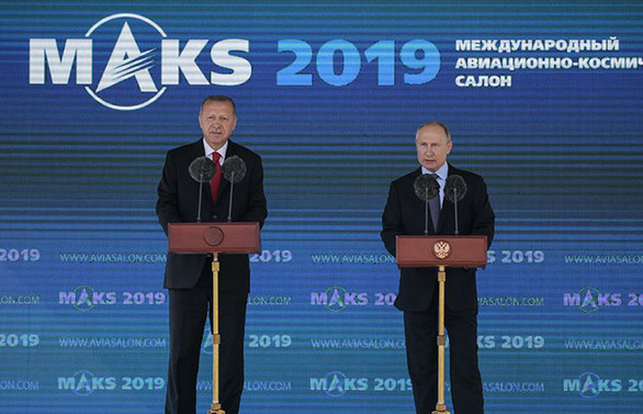Erdoğan: Havacılık alanında önemli hamlelere imza atıyoruz