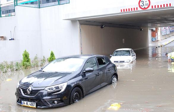 İstanbul'da su baskınlarına karşı 437 milyon TL harcanacak