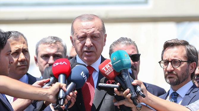 Erdoğan'dan 'İdlib' mesajı