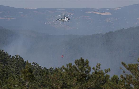 Bursa'daki orman yangını tamamen kontrol altına alındı