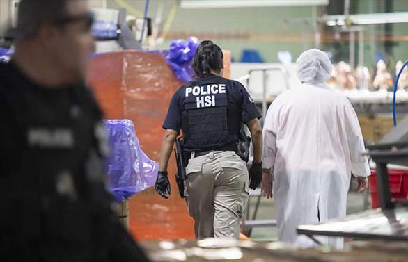 ABD'de göçmen operasyonu: 680 gözaltı