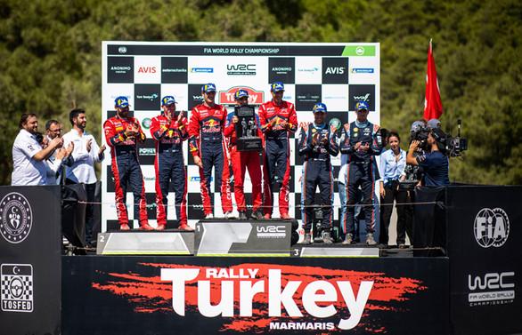 Türkiye Rallisi'ni Ogier kazandı