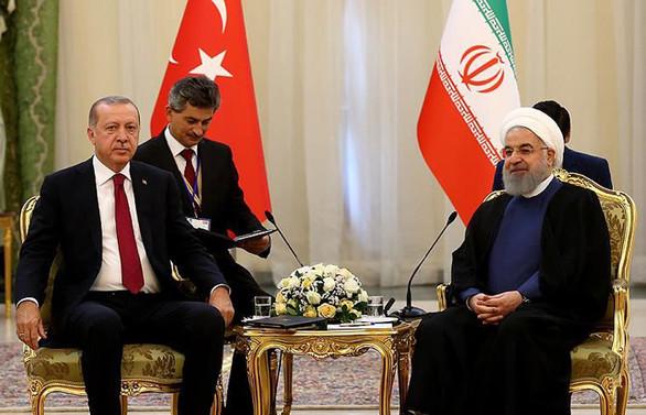 Erdoğan ile Ruhani görüşmesi sona erdi