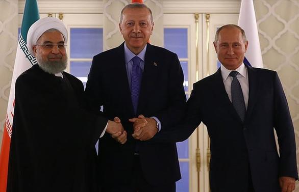 Erdoğan: Suriye'de kalıcı çözüm bulunması noktasında tam mutabakat içindeyiz