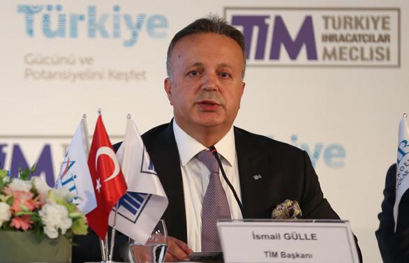TİM Başkanı Gülle: Büyümeye net ihracatın katkısı 7,4 puan