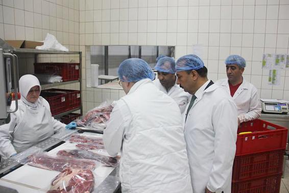 Bursa'dan Orta Doğu'ya et ihracatı