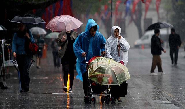 Meteorolojiden 7 il için kuvvetli yağış uyarısı