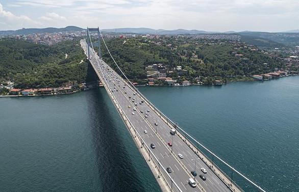 Ağustos ayında köprü ve otoyollardan 165,7 milyon TL gelir
