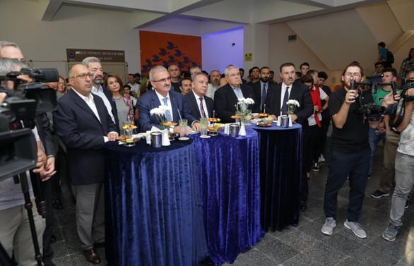 OTİ'nin 'Türkiye Turizminde 150 Yıl' Sergisi, Akdeniz Üniversitesi'nde