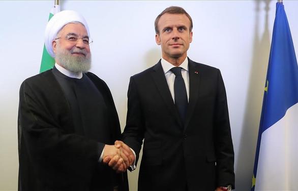 Ruhani ile Macron New York'ta bir araya geldi