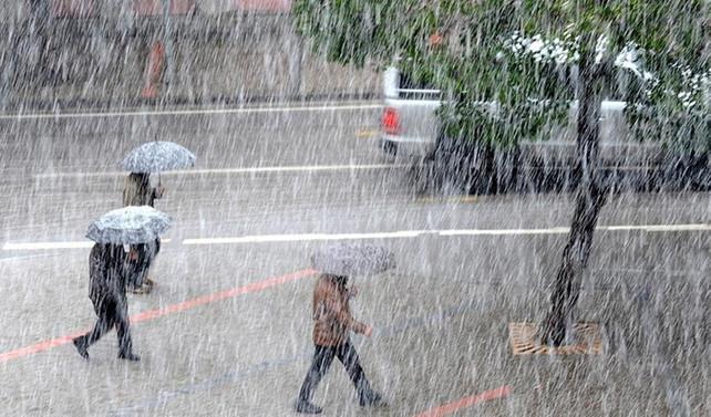 Meteorolojiden 5 bölge için sağanak uyarısı