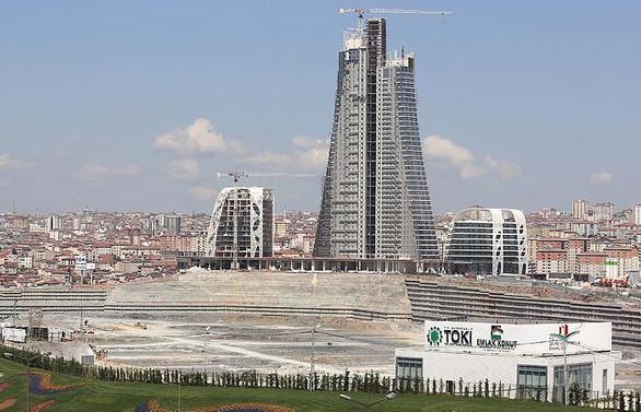 İstanbul Finans Merkezi'nin 465 bin metrekaresini Varlık Fonu devralıyor