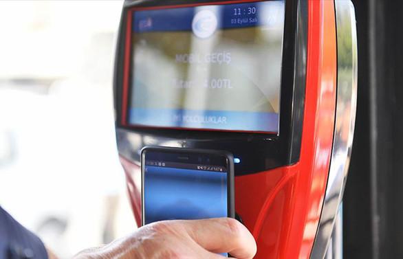 Başkentte 'mobil bilet' dönemi başladı